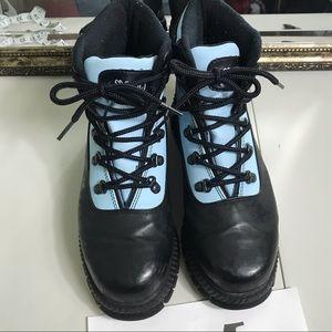 Sporto light and navy blue boot Sz 9 1/2